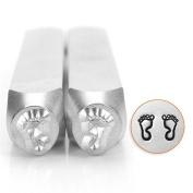 ImpressArt- 6mm, Feet Outline Metal Stamp Pack