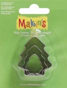 Makin's Clay Cutters 3/Pkg-Tree 1 pcs sku# 655247MA