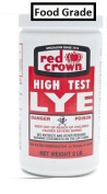 RED CROWN High Test Lye for Making Award-Winning Handcrafted Soaps 0.9kg.