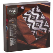 Craft Crush Stencil Purse Kit