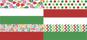 Christmas Tissue Paper Printed and Solid- 120 Sheet