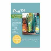 Fluid 100 Watercolour Hp 60kg Ez-Block 4X6
