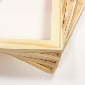 Set of Four 11x14 Joined Canvas Art Stretcher Bars Pine Wood Sanded Corners Artist Supply DIY