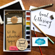 Hand Lettering Kit - Beginning Hand Lettering Set - DIY Hand Lettering for Beginners
