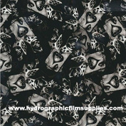 Hydrographic Film - Water Transfer Printing - Hydro Dipping - Ace of Spades - 1 Metre