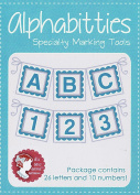 Blue Alphabitties Specialty Marking Tools by It's Sew Emma ISE707