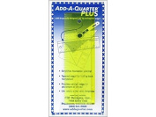 CM Designs Ruler 15cm Add-A-Quarter Plus