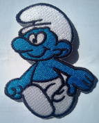 smurf patch , patches for kids , patches iron on patches
