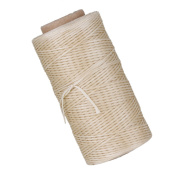 210D 180m Polyester Flat Sewing Waxed Linen Cord Handwork Waxed Thread for Leather