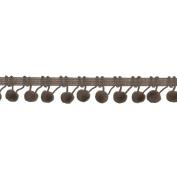 Ball Fringe 2.5cm - 0.3cm Wide, 9 Yards, Ivory