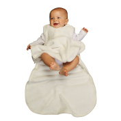 Gunamuna Fleece Gunapod Wearable Baby Sleepsack, Cocoon, Large