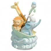 Animal Musical Rotating Figurine