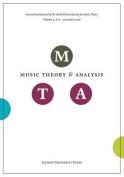 Music Theory and Analysis, Volume 3.2