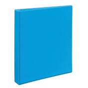 Avery Heavy-Duty Nonstick View Binder, 2.5cm One Touch Slant Rings, 220-Sheet Capacity, DuraHinge, Lt. Blue