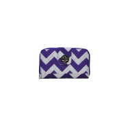 Chevron Prints NGIL Quilted Twist Lock Wallets