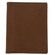 Hammer Coal Genuine Leather Male Wallet Boys / Gents Wallet Brown
