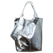My-Musthave Men's Shoulder Bag silver Darksilver mittel