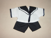 Sailor Blouse and Pants for Teddies from 30 cm