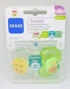 Mam Crystal Soother Twin Pack 6m+