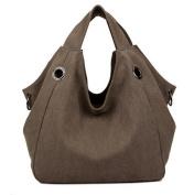 DATO Women's Canvas Tote Bags Handbags Multifunction Fashion Hobos Shoulder Bags Casual Cross Body Top Handle Bags for Women