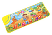 Education toys,Baomabao Touch Play Keyboard Musical Music Singing Gym Carpet Mat Kids Baby Gift