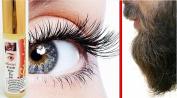 Natural Lashes Eyebrow Eyelash / BEARD Side-Burn Growth SERUM Roll-On 10ml - NEW IMPROVED FORMULA !
