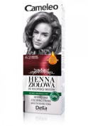 Cameleo Herbal Henna Colouring Cream BURGUNDY 75g Natural Henna extract with Moroccan Oil