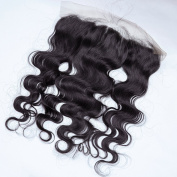 Royalvirgin 13*4Brazilian Water Wave lace frontal human hair lace frontal bleached knots, Free part top lace frontal