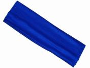 Royal Blue 7cm Wide Stretch Headband Bandeau by Inca