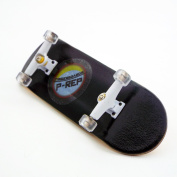 P-REP 2017 Black Complete Wooden Fingerboard with Basic Bearing Wheels - Starter Edition