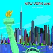 New York Calendar 2018