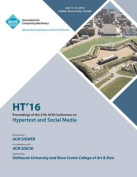 Ht 16 27th ACM Conference on Hypertext & Social Media