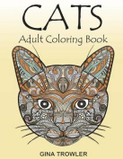 Cats: Adult Coloring Book