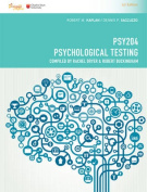 CP1083 - PSY204 Psychological Testing