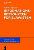 Informationsressourcen Fur Slawisten  [GER]
