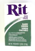 Rit Dye Powder Dye, 30ml, Dark Green, 3-Pack