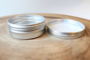 30ml Slip Slide Top Round Tin Containers for Crafts Cosmetics Candles Geocaching