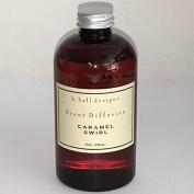 K. Hall Designs Scent Diffuser 240ml Refill - Caramel Swirl