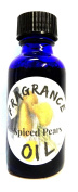Spiced Pears 30ml Blue GLASS Bottle of Premium Fragrance / Essential Oil, Skin Safe Oil, Use in Candles, Soap, Lotions, Etc