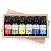 Romance Set. 6 Essential Oil Set. 10 ml. 100% Pure, Undiluted, Therapeutic Grade.