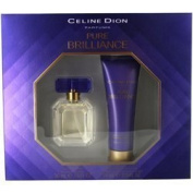 CELINE DION PURE BRILLIANCE by Celine Dion EDT SPRAY 30ml & BODY LOTION 70ml by Vetrarian