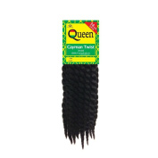Sepia Queen Cayman Jumbo Senagalese TWIST BRAID 36cm - Purple Crochet Interlocking Extensions