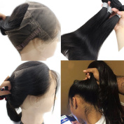 Atina Hair 360 Closure Band With Bundles 360 lace frontal Can Do High Ponytail