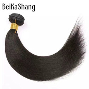 Beikashang 70cm hair weft extensions straight,Brazilian Virgin straight hair bundles,Good Quality