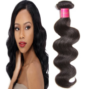 ALI JULIA Hair 1 Bundle 7A Malaysian Virgin Body Wave Hair Weave 100% Unprocessed Human Hair Weft Extensions Natural Colour