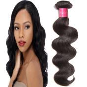 ALI JULIA Hair 1 Bundle 7A Malaysian Virgin Body Wave Hair Weave 100% Unprocessed Human Hair Weft Extensions Natural Colour