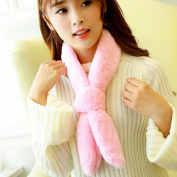 Lisingtool Women Winter Warm Plush Scarves Scarf