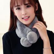 Lisingtool Women Winter Warm Plush Scarf Stole Cape Collar Wrap Scarves Shawl