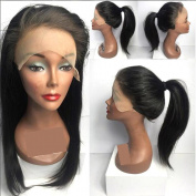 Cheap Full Lace Human Hair Wigs with Baby Hair Brazilian Glueless Lace Wigs Natural Colour 46cm 150 Density