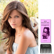 ANGELICA PM by Noriko Wigs, Wig Galaxy Hair Loss Booklet & Wide Tooth Comb (Bundle - 3 Items)